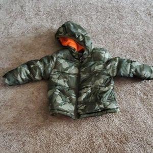 Toddler Puffy Winter Coat